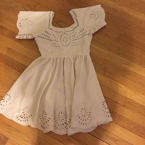 lantern cut out dress